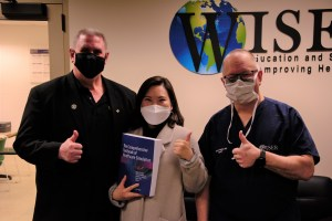 Dr. O�Donnell, Dr. Mikang Kim, and Dr. Phrampus